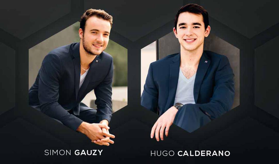 Simon Gauzy & Hugo Calderano